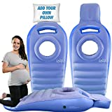 A Pregnancy Pillow by Cozy Bump– The Best Pregnancy Pillow for Sleeping Prone, Pregnancy Body Pillow, Maternity Pillow, Pregnancy Bed, Pregnancy Gifts, Prone Pillow