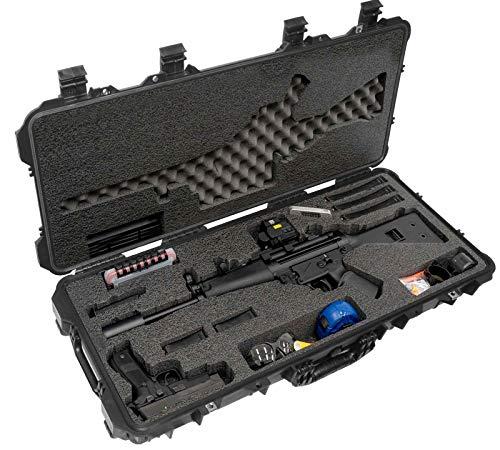 Case Club HK MP5 Pre-Cut Waterproof Case with Accessory Box and Silica Gel to Help Prevent Gun Rust (Gen 2)