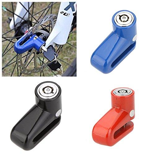 Anti-Theft Safety Security Motorcycle Bicycle Lock Steel Mountain Road MTB Bike Cycling Rotor Disc Brake Wheel Lock