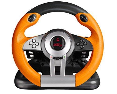 Speedlink Drift O.Z. USB Lenkrad / Verdrahteten Antriebsregler / Für Windows, Laptop, PC-Spiele / iCHOOSE