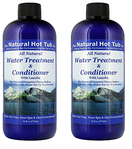 The Natural Hot Tub Company Water Treatment and Conditioner (2-Pack)