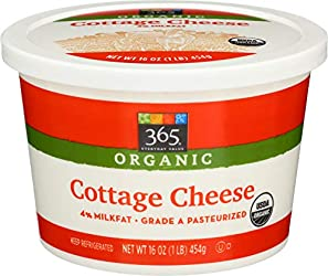 365 Everyday Value Organic Cottage Cheese, 16 oz