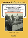 Violin Concerto in D Major: with Analytical Studies and Exercises by Otakar Sevcik, Op. 18 and 25