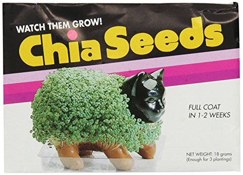 Chia Seed Pack, 3 Count(Chia pet not Included)