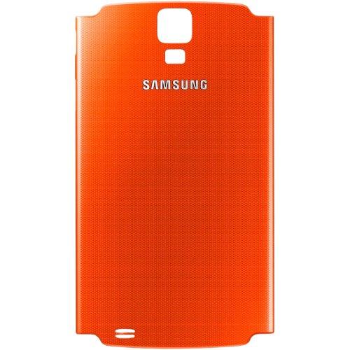 Original Samsung Akkudeckel für das Samsung i9295 Galaxy S4 Active - orange (Akkufachdeckel, Batterieabdeckung, Rückseite, Back-Cover) - GH98-28011C
