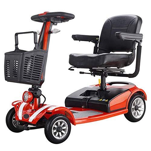 Inicio Accesorios Ancianos Discapacitados Silla de ruedas eléctrica de cuatro ruedas Scooter...
