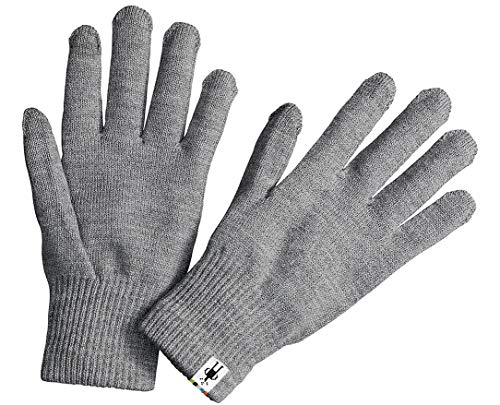 Smartwool Liner Glove Silver Gray Heather MD