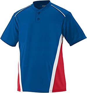 Augusta Sportswear Men's RBI Jersey L Royal/Red/White Shirt, Large