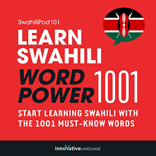 Learn Swahili - Word Power 1001 Titelbild