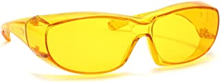 Calabria 6000 Large Fit-Over UV Protection in Yellow