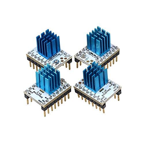 Twp stampante 3D parti MKS TMC2100Stepstick stepper Motor driver modulo con dissipatore di calore ultra-silenzioso ottime prestazioni per stampante 3D RepRap