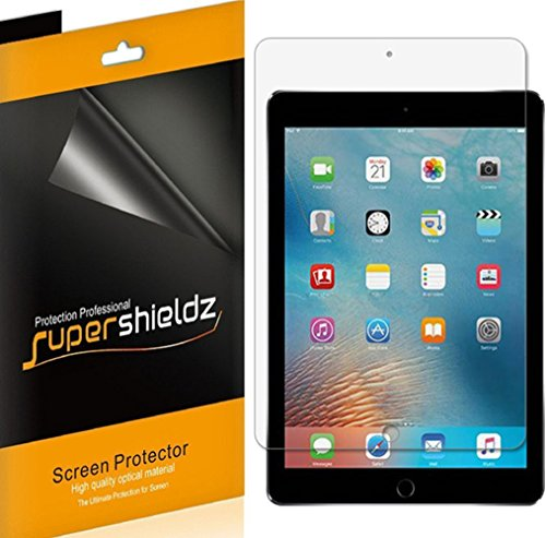 (3 Pack) Supershieldz Anti Glare and Anti Fingerprint (Matte) Screen Protector for Apple iPad 9.7 inch (2018, 2017) and iPad Pro 9.7 inch