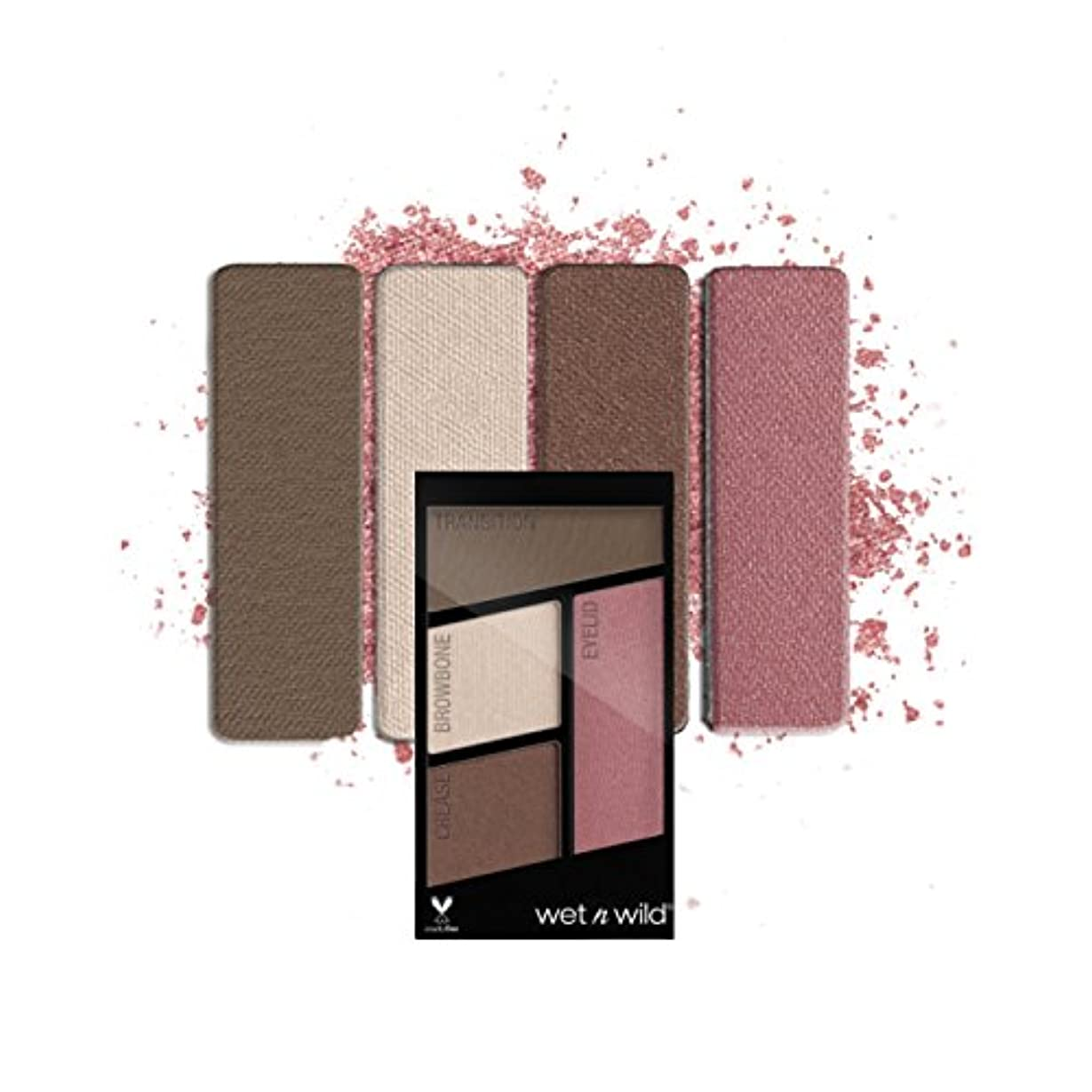 佐賀船上ローラー(6 Pack) WET N WILD Color Icon Eyeshadow Quad - Sweet As Candy (並行輸入品)