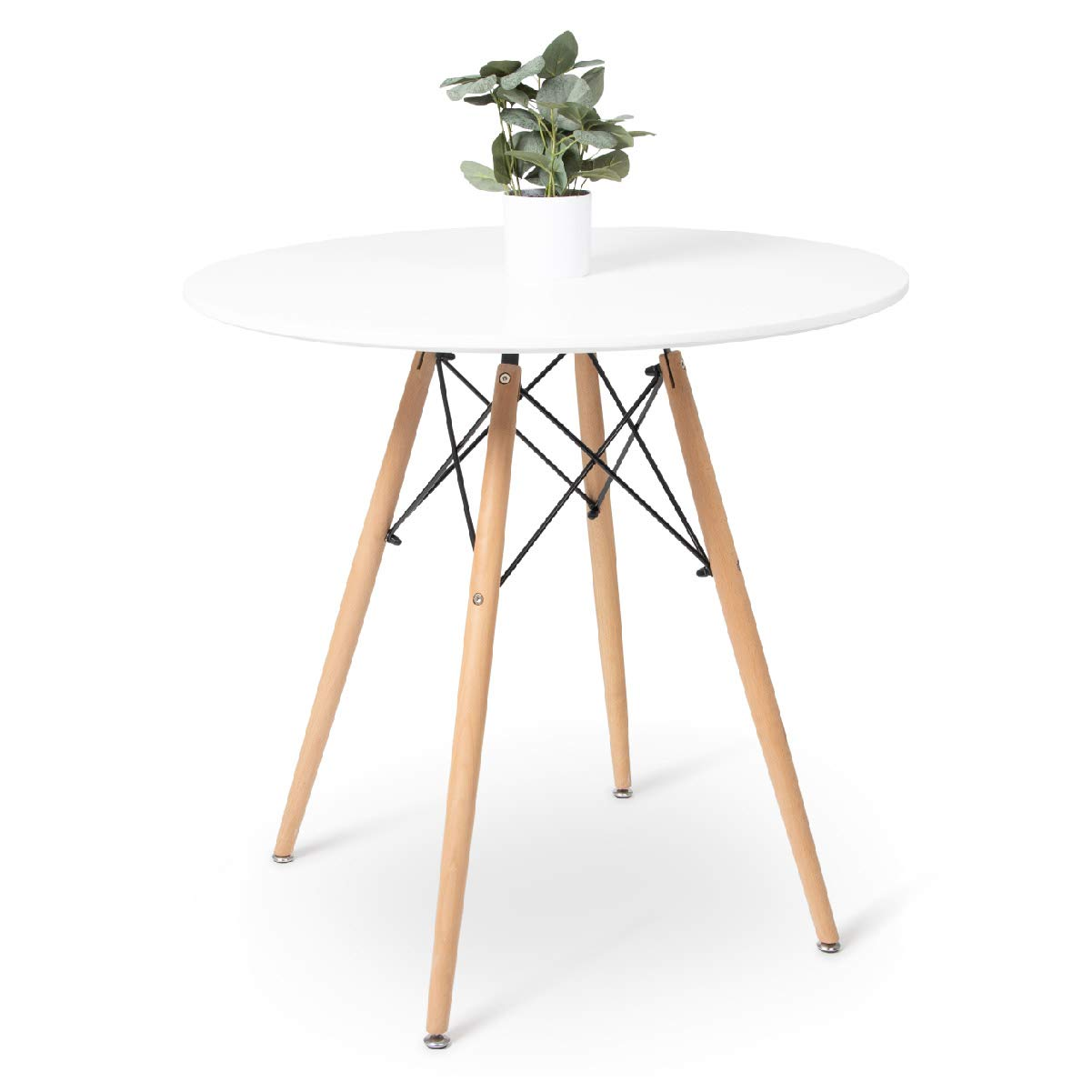 Milliard Dining Table – Small, Round, Dining Room Table   for 9 to ...