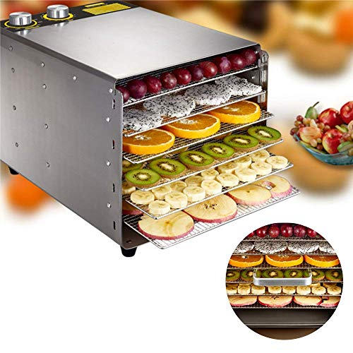Buy Discount Food Dehydration Dryer Dried Fruit Machine Intelligent Temperature Timing Control Bass ...