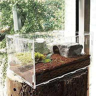 FidgetGear Reptile Cage Breeding Box Tarantula Insect Lizard Snake Amphibian Frog New