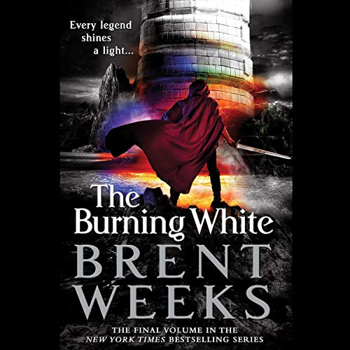 The Burning White audiobook cover art