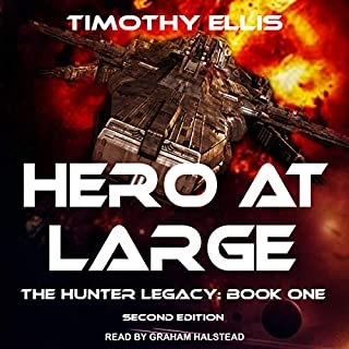 Hero at Large (Second Edition) audiobook cover art