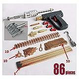East Kay 86Pcs Dent Puller Welder Kit Car Body Spot Repair Device Stud Welding Hammer Gun