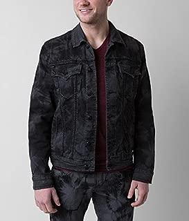rock revival denim jacket