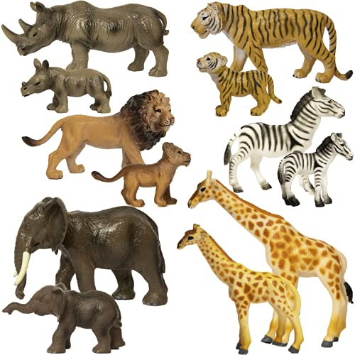 SB TOYS Premium Realistic Safari Zoo...