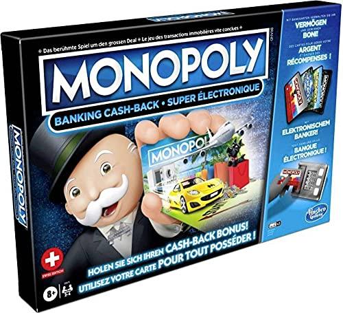 Hasbro Monopoly Banking Cash-Back Schweiz E8978149 Monopoly Banking Cash-Back Schweiz E8978149