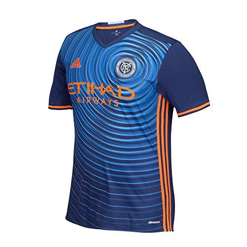 MLS New York City FC Men's Replica Short Sleeve Team Jersey, Sky, X-Large