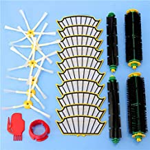 DORLIONA 22pcs Vacuum Cleaner Accessories Filters and Brushes for iRobot Roomba 500 Series