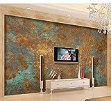 Rureng Murales 3D Fondo De Pantalla Personalizado De Lujo Europeo Retro Óxido Óxido Tv Fondo Pared Pintura Mural De La Pared Tapety-450X300Cm