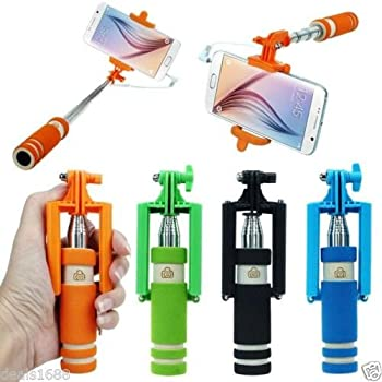 Handheld Extendable Self-Pole Tripod Monopod Selfie Stick For iPhone For Samsung