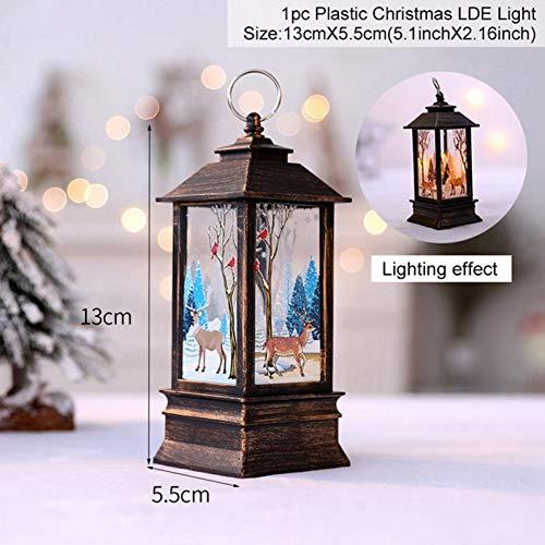 Fairy String Foto Clip Light Kerstdecoratie voor huis Garland hanger kerstboom Decor Navidad Ornamenten Kerstmis WSJKHY 31-4