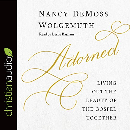 Adorned audiobook cover art