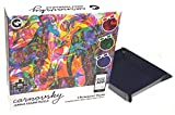 Carnovsky Jungle 500 Piece Jigsaw Puzzle (3 in 1 Pictures) Bundled with Puzzle Piece Sorter Tray