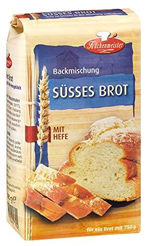 BIELMEIER KÜCHENMEISTER Brotbackmischung Süßes Brot 15 Stück á 500 g made in Germany