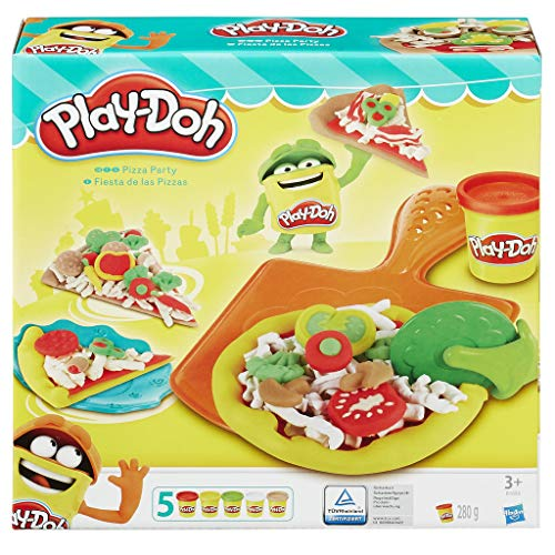 Play Doh Pizzería, Multicolor, 23 x 22 cm (Hasbro B1856EU6)