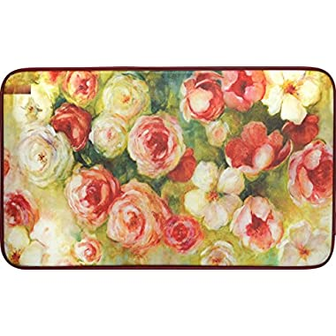 Chef Series 18 x30  Antifatigue Kitchen Mats (Roses)