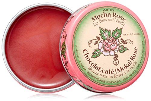 Rosebud Lip Balm, Mocha Rose.8 Ounce