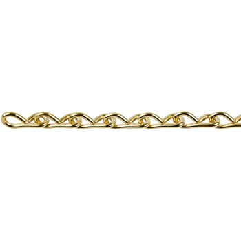 3-by-100-Feet Forney 70421 Double Loop Chain