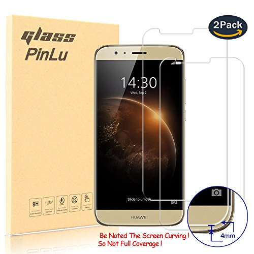 pinlu [2 Pack] Protector de Pantalla de Cristal para Huawei GX8 Protector...