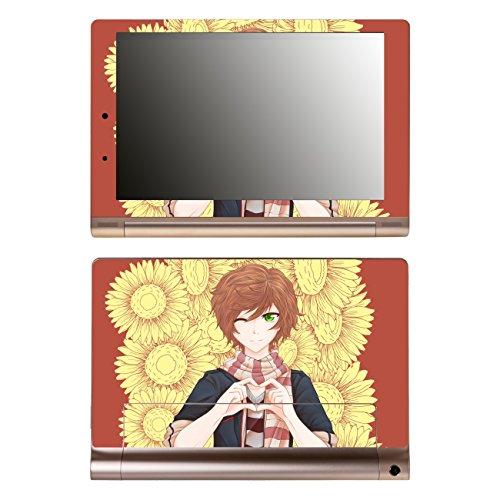'Disagu SF 106153_ 1065Designer Skin Back Case Cover for Lenovo Yoga Tablet 10HD + B8080H Manga Boy Heart Gesture Sunflowers–Clear