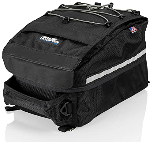 Chase Harper USA 5501 Tail Trunk - Water-Resistant, Tear-Resistant, Industrial Grade Ballistic Nylon with Adjustable Bungee Mounting System for Universal Fit