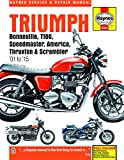 Triumph Bonneville, T100, Speedmaster, America, Thruxton & S (Haynes Service & Repair Manual)