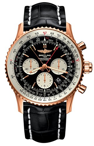 Limited Edition 18ct Rose Gold Breitling Navitimer 1 B03 Chronograph Rattrapante 45 (2018 Model) RB031121/BG11
