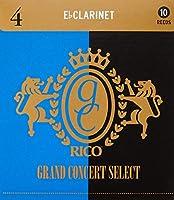 RICO リード グランドコンサートセレクト Ebクラリネット 強度:4(10枚入) RGC10ECL400