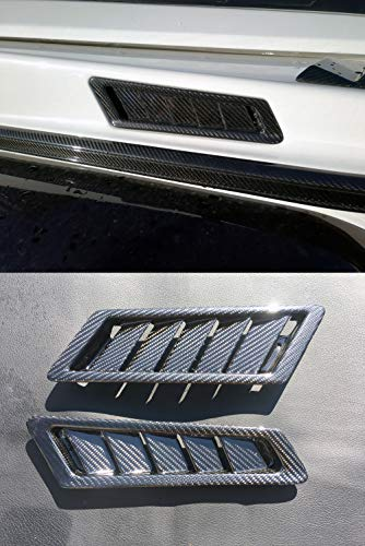 kit-car Brabus Style – Carbon Fiber Side Air Vent Covers – for Mercedes-Benz W463 G-Class G500 G55 G63 G65 - Set 2 pcs