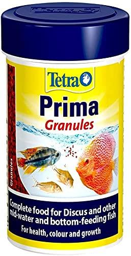 Tetra Prima Granules Fish Food, Slowly Sinking Complete Fish Food, 500 ml