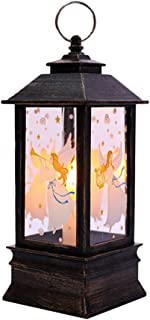 Halloween Lantern,Night Lighthouse Halloween Hanging Solar Lights Indoor Or Outdoor Decoration Atmosphere Decorative Props Yard Lawn Halloween Party (E)