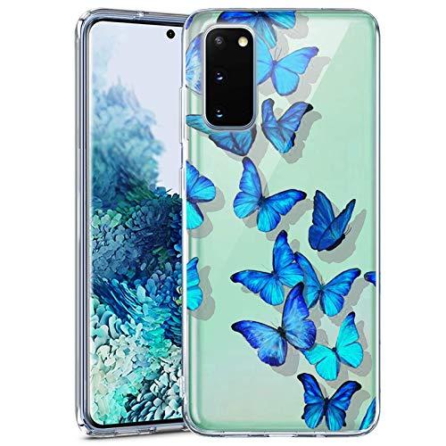 Mr dud Samsung Galaxy S20 FE 5G Case -Clear Case for Samsung Galaxy S20 FE 5G Samsung Galaxy S20 FE 5G Clear Case (Butterfly)