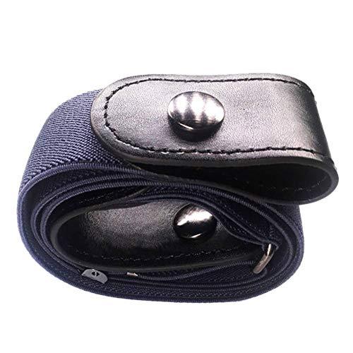 PLOKJM Buckle-Free Elastische Frauen Männer Invisible Belt Für Jeans No Bulge HassleNeujahrsgeschenk