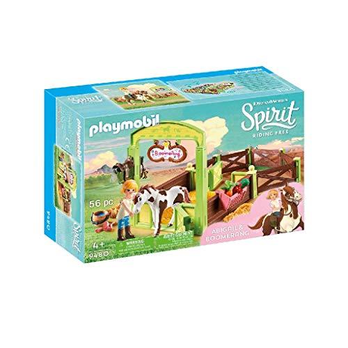Playmobil Spirit - Riding Free 9480 - Abigail e la Stalla di Boomera, dai 4 anni
